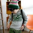 เสื้อแขนยาว-Floats-สีเขียวปนเทา-(4size/pack)