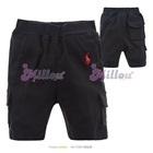 กางเกงสามส่วน-Ralph-Lauren-สีดำ-(6size/pack)