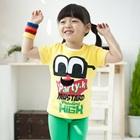เสื้อยืดแขนสั้น-Party-K-สีเหลือง--(5size/pack)