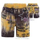 กางเกงขาสั้นสีเปรอะเปื้อน-(5size/pack)