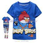 เสื้อยืดแขนสั้น-Angry-Birds-สีน้ำเงิน-(6size/pack)
