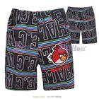 กางเกงสามส่วนหลากอักษร-สีเทาเข้ม-(6size/pack)