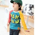 เสื้อแขนยาว-OLK-MAN-สีเหลืองชมพู-(4size/pack)