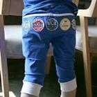 กางเกงขายาวปักโฆษณา-สีน้ำเงิน-(4-ตัว/pack)