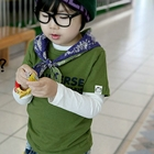 เสื้อยืดคอกลม-Universe-สีเขียว-(5size/pack)