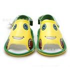 รองเท้าแตะเด็กรถยิ้ม-สีเหลือง-(4-คู่/แพ็ค)