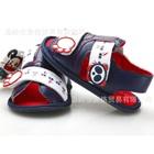 รองเท้าแตะหมีแพนด้า-สีน้ำเงิน-(4-คู่/แพ็ค)