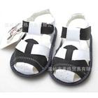 รองเท้าแตะเด็ก-สีดำขาว-(4-คู่/แพ็ค)