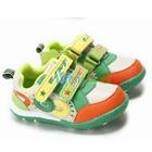 รองเท้าผ้าใบเด็ก-Sport-สีส้มเขียว-(5-คู่/แพ็ค)
