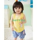 ชุดเสื้อกางเกงกระต่ายน้อย-สีเหลือง-(5-ตัว/pack)