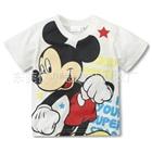 เสื้อยืดแขนสั้น-Mickey-Mouse-สีขาว-(10-ตัว/pack)