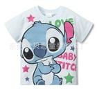 เสื้อยืดแขนสั้น-Baby-Stitch-สีขาว-(10-ตัว/pack)