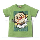 เสื้อยืดแขนสั้น-Anpanman-สีเขียว-(10-ตัว/pack)