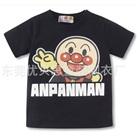 เสื้อยืดแขนสั้น-Anpanman-สีดำ-(10-ตัว/pack)