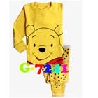 ชุดนอนหมีพูลล์-สีเหลือง-(6-ตัว/pack)