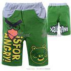 กางเกงสามส่วน-Is-for-angry-สีเขียว--(6size/pack)