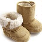 รองเท้าบู๊ทเด็ก-Baby-UGG-สีน้ำตาลอ่อน(-15-คู่)