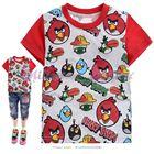 เสื้อยืด-Angrybirdsมากหน้า-สีแดง-(6size/pack)