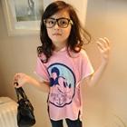 เสื้อยืดแขนสั้น-Mickey-Mouse-สีชมพู-(5ตัว/pack)