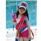 ชุดเสื้อกางเกงสปอร์ตเกิลล์-สีชมพู-(5-ตัว/pack)