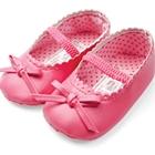 รองเท้าเด็ก-Princess-bat-สีชมพูเข้ม