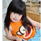 เสื้อกล้ามลิงยิ้มแย้ม-สีส้ม-(5ตัว/pack)