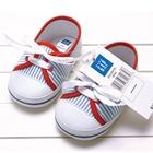 รองเท้าเด็กสปอร์ตลายทางสีฟ้า-GAP
