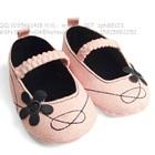 รองเท้าเด็กดอกไม้-Zara-baby-สีชมพู-(6-คู่/แพ็ค)