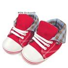 รองเท้าผ้าใบเด็ก-Gap-สีแดง-(6-คู่/แพ็ค)