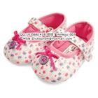 รองเท้าเด็กดอกไม้เล็กๆ-Mothercarสีขาว-(6-คู่/แพ็ค)