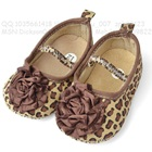 รองเท้าเด็กลายเสือดาว-สีน้ำตาล-(6-คู่/แพ็ค)