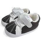 รองเท้าผ้าใบเด็ก-สีดำขาว-(4-คู่/แพ็ค)