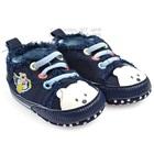 รองเท้าผ้าใบเด็กหมี-Mothercare-สีกรม-(6-คู่/แพ็ค)