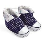 รองเท้าผ้าใบเด็ก-Mothercare-สีกรม-(6-คู่/แพ็ค)