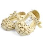 รองเท้าเด็กลายดอกไม้-Mothercareสีครีม-(6-คู่/แพ็ค)