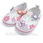 รองเท้าเด็กลายดอกไม้-Mothercare-สีขาว(6-คู่/แพ็ค)
