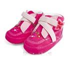 รองเท้าเด็กผีเสื้อ-Zara-baby-สีชมพู-(6-คู่/แพ็ค)