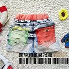 กางเกงยีนส์ขาสั้นกระเป๋าสองสี-(5-ตัว/pack)