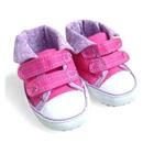 รองเท้าเด็ก-แฟชั่น-สีชมพูเข้ม