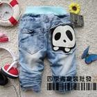 กางเกงยีนส์ขายาวหมีแพนด้า-สีฟ้า-(5-ตัว/pack)