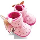 รองเท้าเด็ก-กระต่ายน้อยน่ารัก-สีชมพู