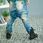 กางเกงยีนส์ขายาวสีน้ำเงิน-(5-ตัว/pack)