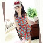 จั๊มสูทหัวใจเล็ก-Love-Love-สีแดง-(5-ตัว/pack)