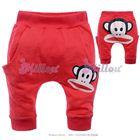 กางเกงก้นบาน-Paul-frank-สีแดง--(5size/pack)