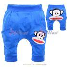 กางเกงก้นบาน-Paul-frank-สีฟ้า--(5size/pack)