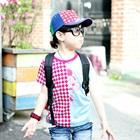 เสื้อยืดแขนสั้น-Mickey-Mouse-สีฟ้า-(5size/pack)
