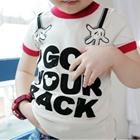 เสื้อยืด-Mickey-Mouse-ขอบสีแดง--(5size/pack)