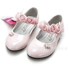 รองเท้าเจ้าหญิงดอกกุหลาบ-สีชมพูอ่อน-(5-คู่/แพ็ค)