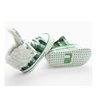 รองเท้าเด็ก-BURBERRY-ลายสก็อตสีเขียว