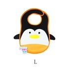 ผ้ากันเปื้อนเพนกวิน-Mom-care-สีดำ-(10-ชิ้น/pack)